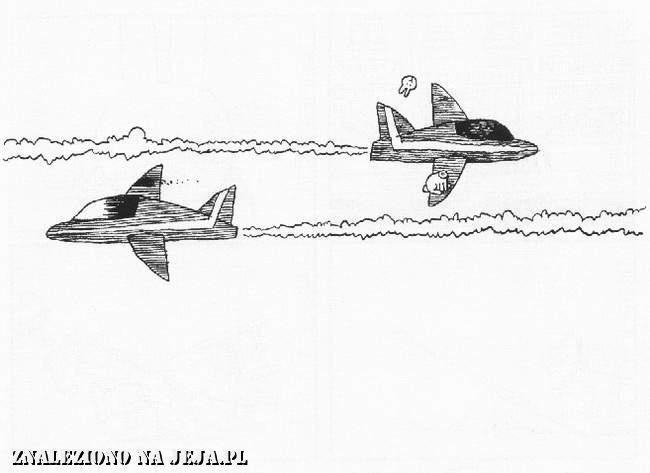 Samobójstwa zajączka: Zajączek i samoloty