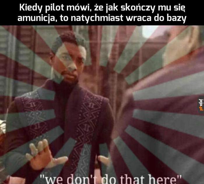 Tego tu nie robimy