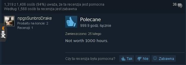 No to nie kupuję