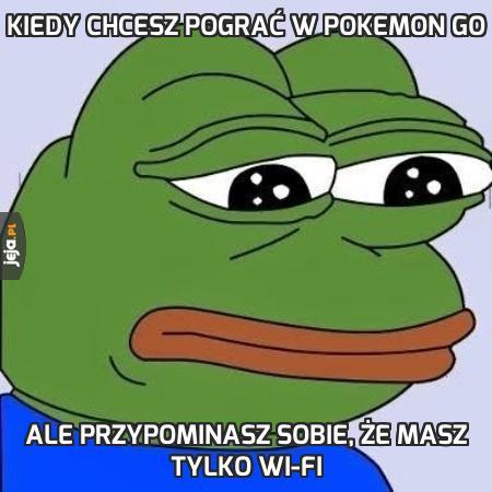 Kiedy chcesz pograć w Pokemon GO