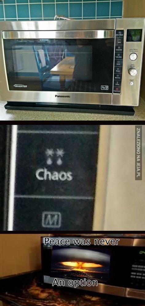 Niech rozpocznie się chaos!