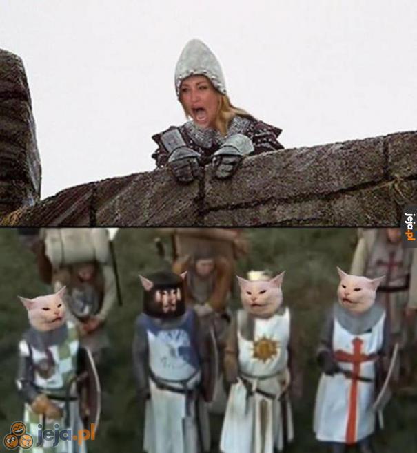 Byliście gotowi na crossover z Monty Pythonem?
