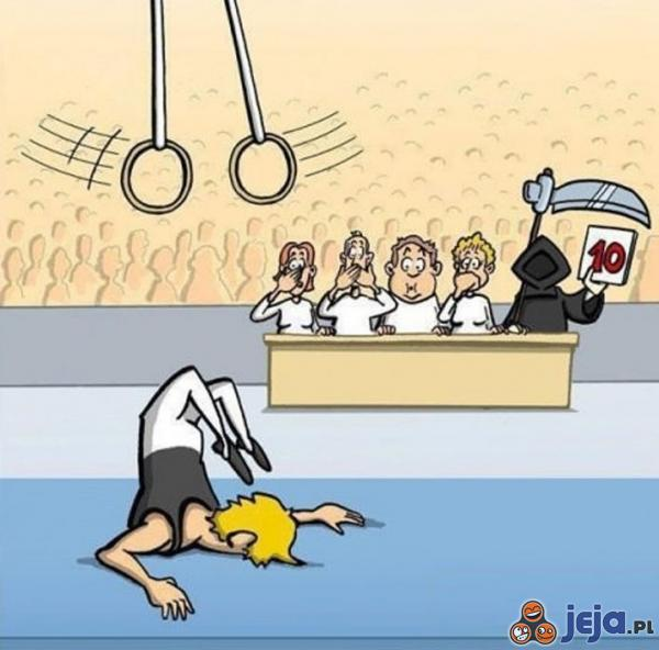 Śmierć dopinguje nasze upadki