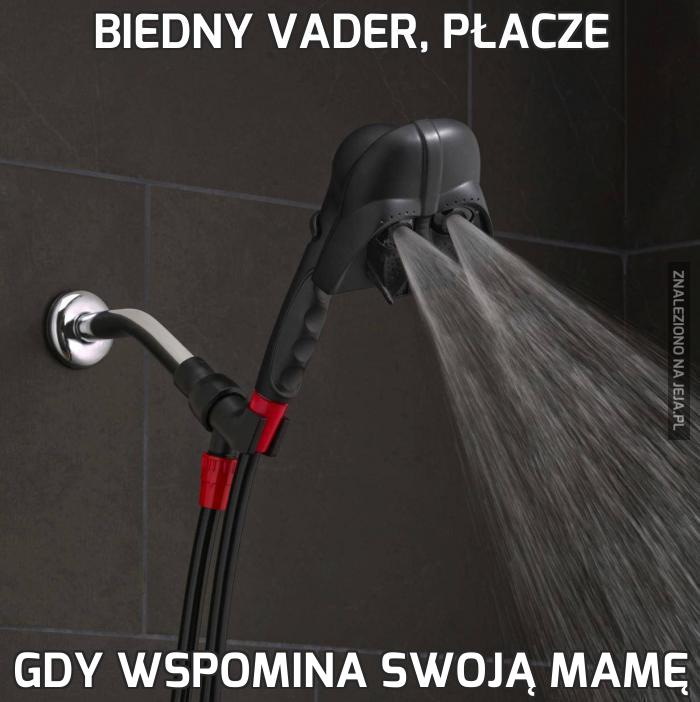 Biedny Vader, płacze