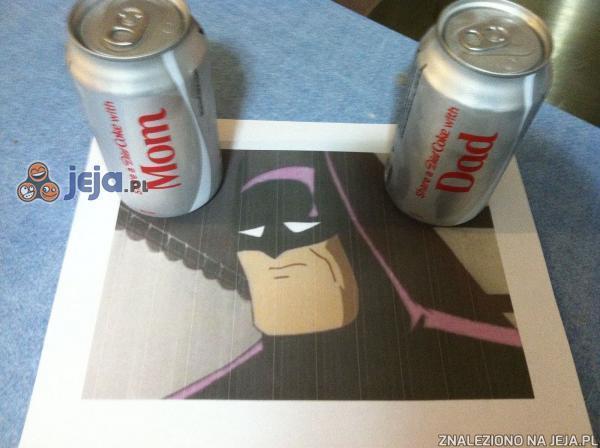 Dlatego Batman pije Pepsi