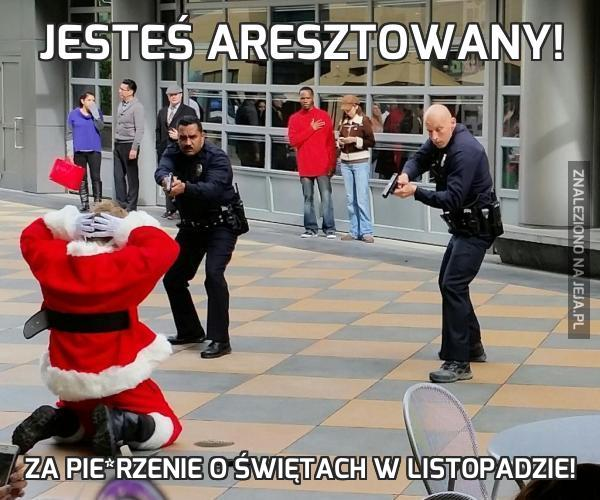 Jesteś aresztowany!