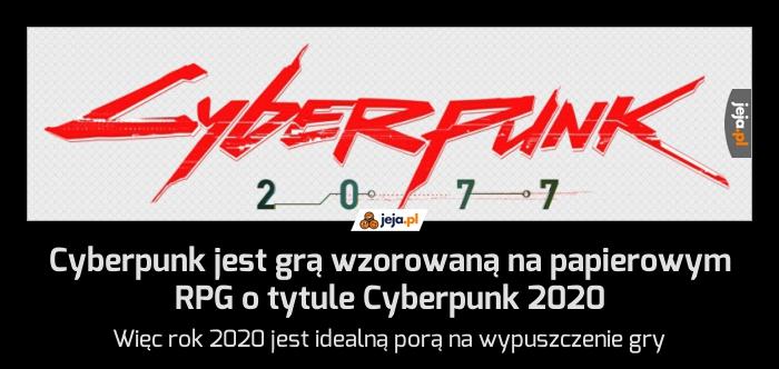 Cyberpunk jest grą wzorowaną na papierowym RPG o tytule Cyberpunk 2020