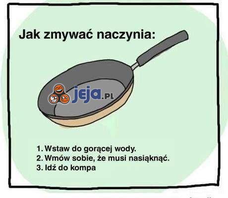 Jak zmywać naczynia?