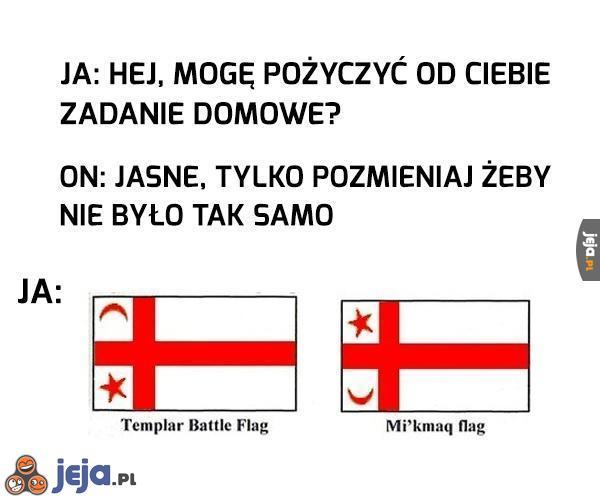 Pożyczona flaga