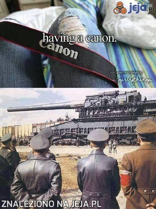 "Mieć własnego ""canona""..."