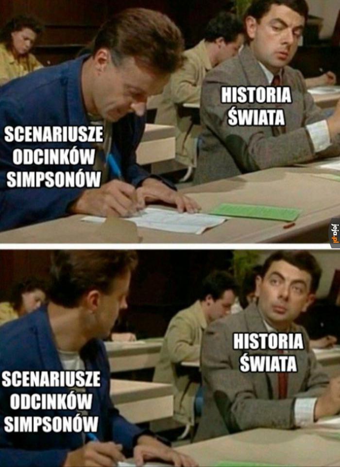 Simpsonowie i historia świata