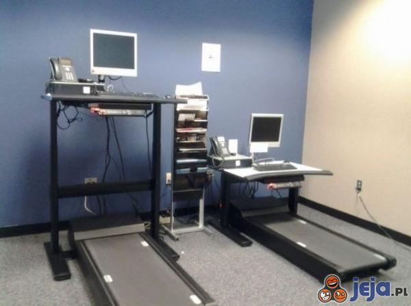 Aktywny wypoczynek przy komputerze