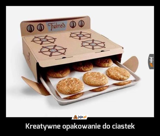 Kreatywne opakowanie do ciastek