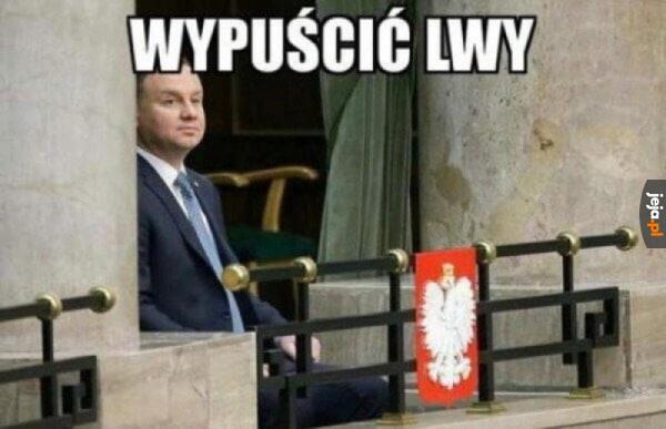 Tymczasem w warszawskim koloseum