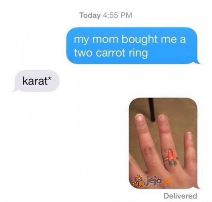 A Twój pierścionek ile ma karotek?