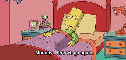 Poniedziałek. Znowu się zaczyna.
