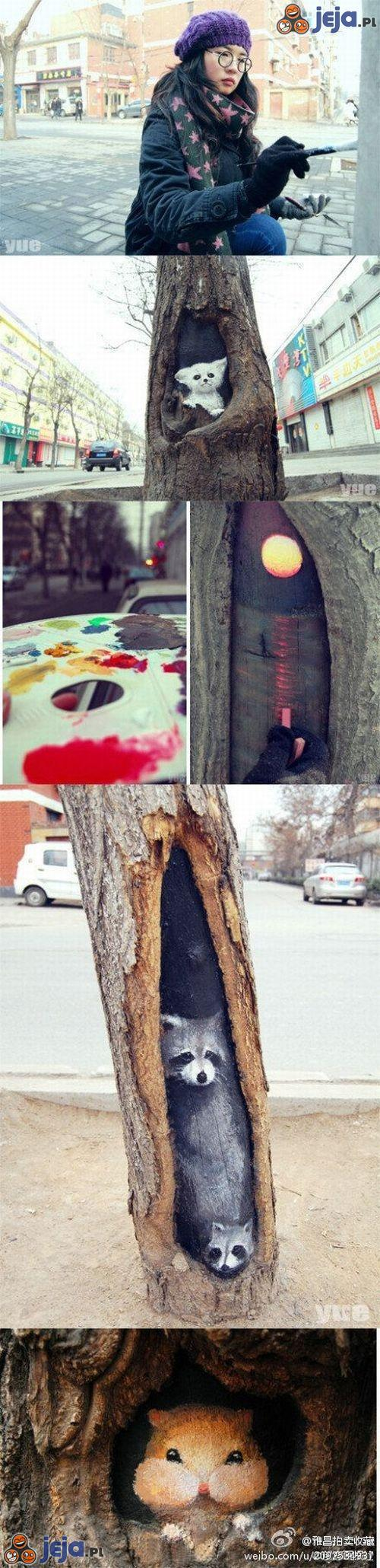 Sztuka w drzewie