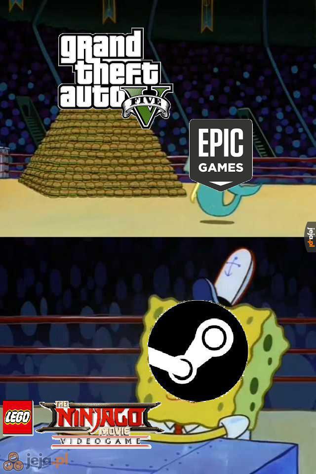 Patrząc na mój komputer Steam zdecydowanie wygrał