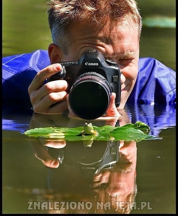 Dobra fotografia wymaga poświęceń