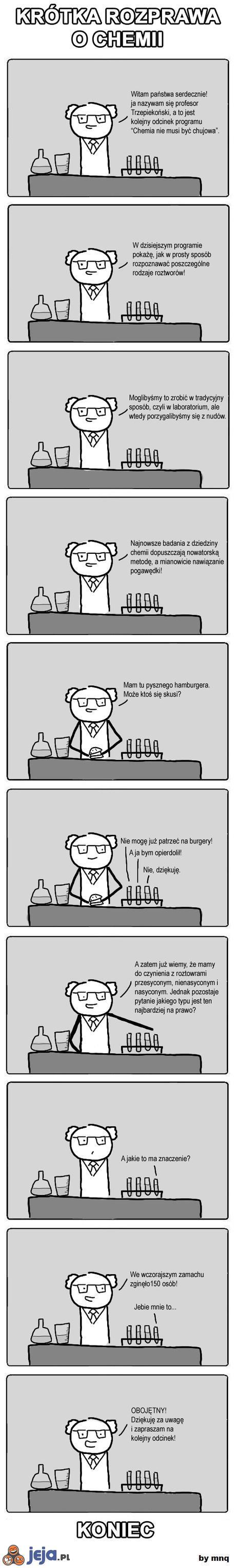 Krótka rozprawa o chemii