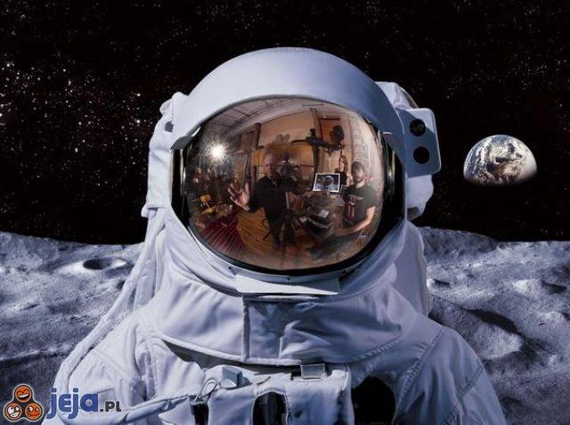Lądowanie człowieka na księżycu