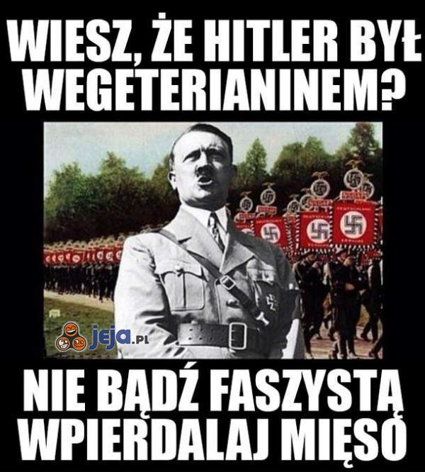 Nie bądź faszystą!
