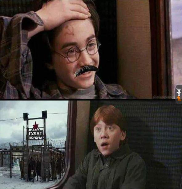 To chyba nie jest Hogwart...