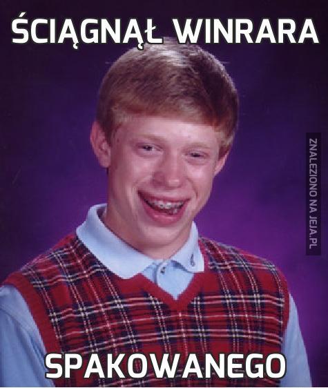 Ściągnął Winrara