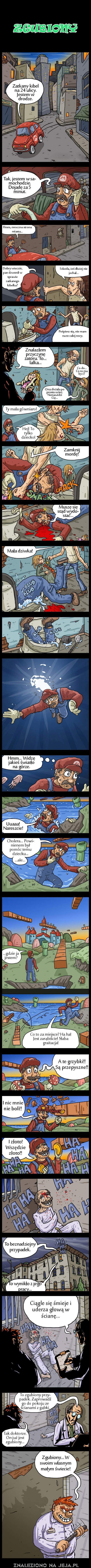 Zgubiony Mario