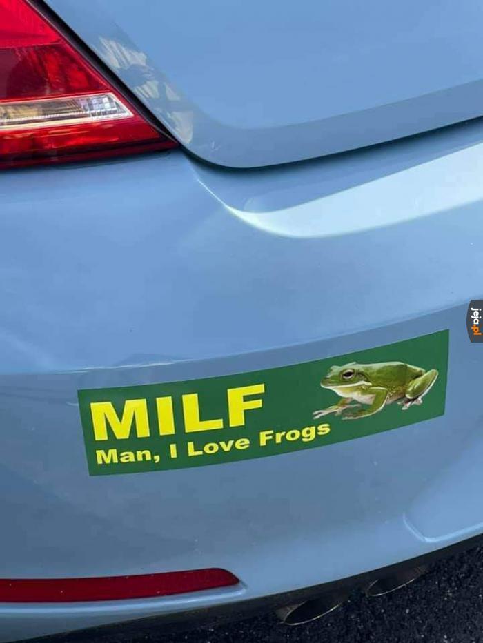 Lubicie żabki?