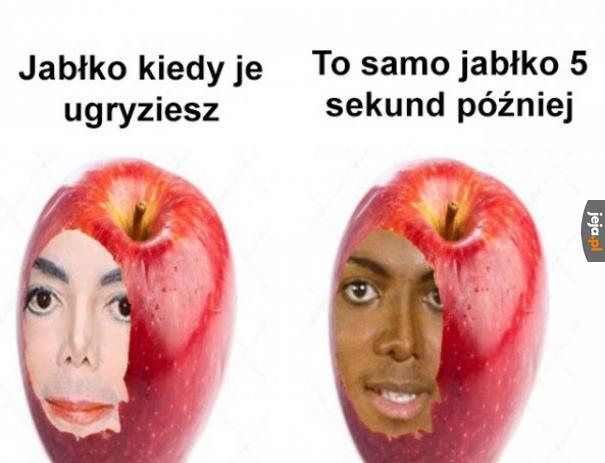 Śpieszmy się jeść jabłka, tak szybko czernieją