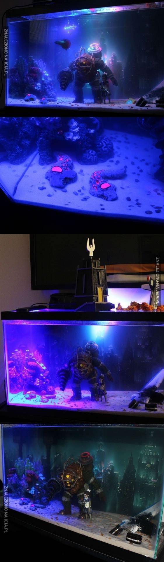 Akwarium w stylu Bioshock