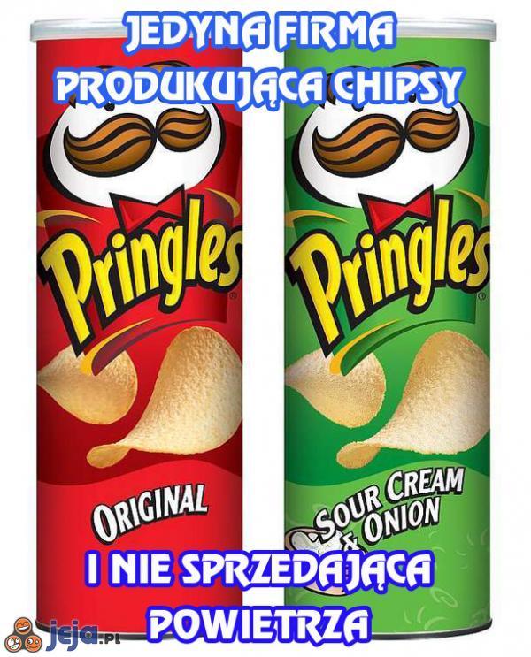 Jedyna firma produkująca chipsy i nie sprzedająca powietrza
