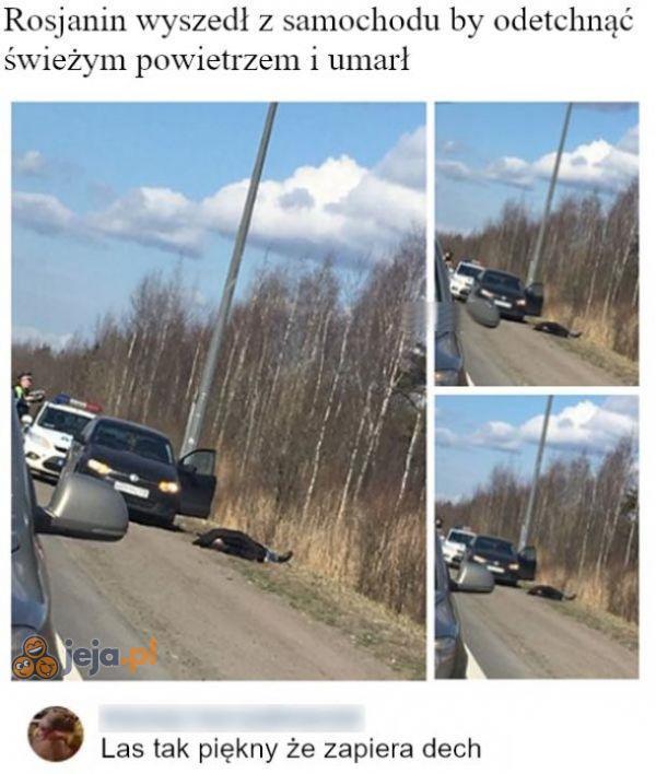 Zgadnij, z jakiego kraju pochodzi ten Rosjanin