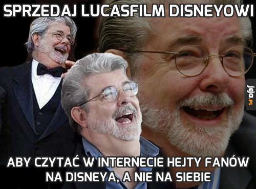 Sprzedaj Lucasfilm Disneyowi