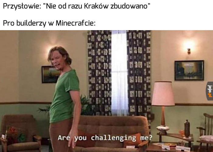 Wyzwanie przyjęte