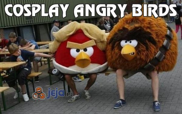 Cosplay Angry Birds