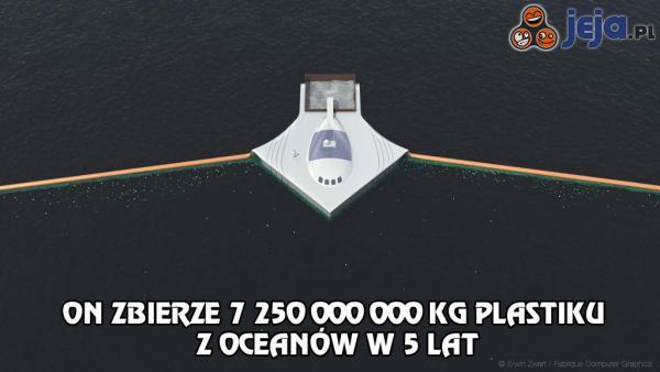Statek, który posprząta oceany