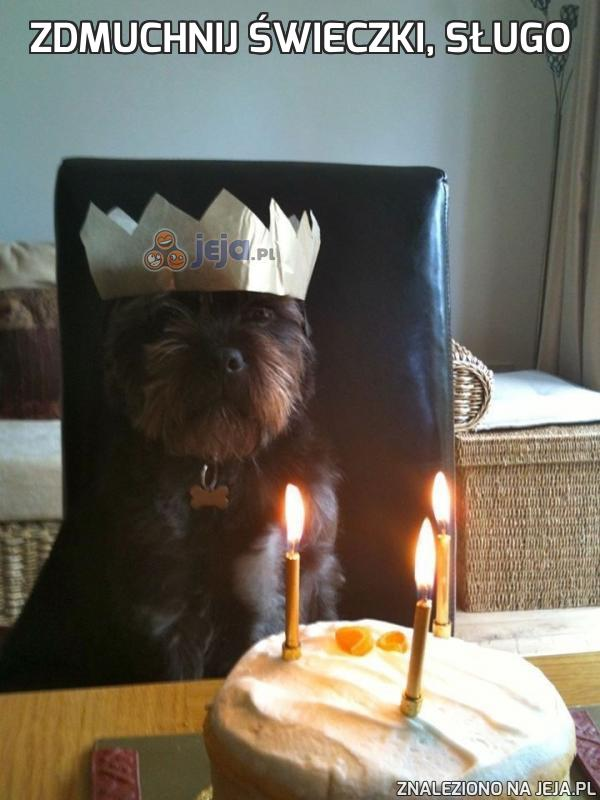 Zdmuchnij świeczki, sługo