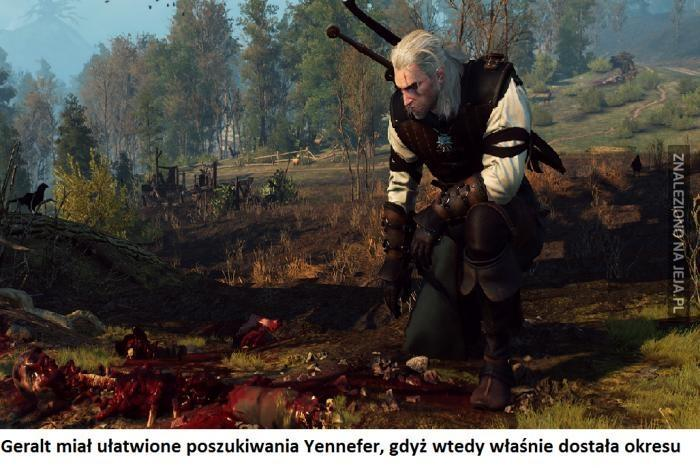 Poszukiwania Yennefer