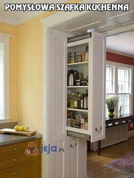 Pomysłowa szafka kuchenna