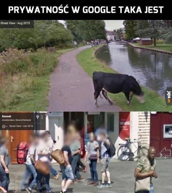 Prywatność w Google