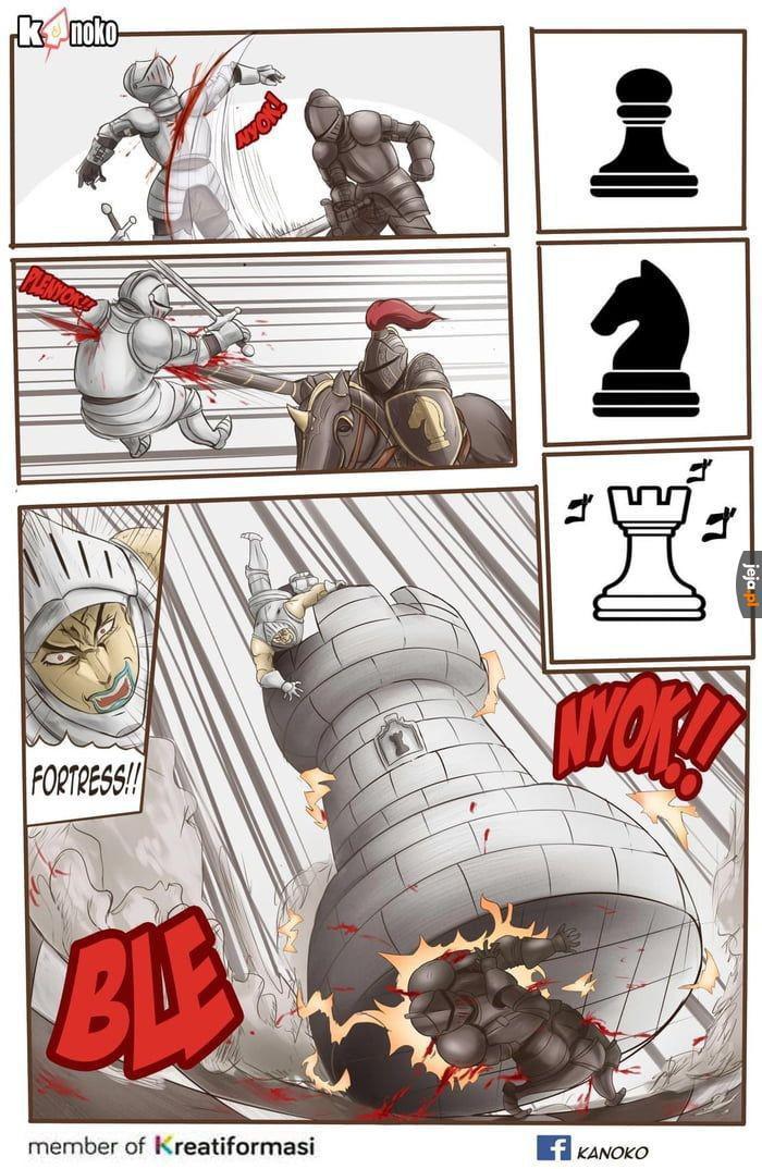 Tak wyglądają szachy