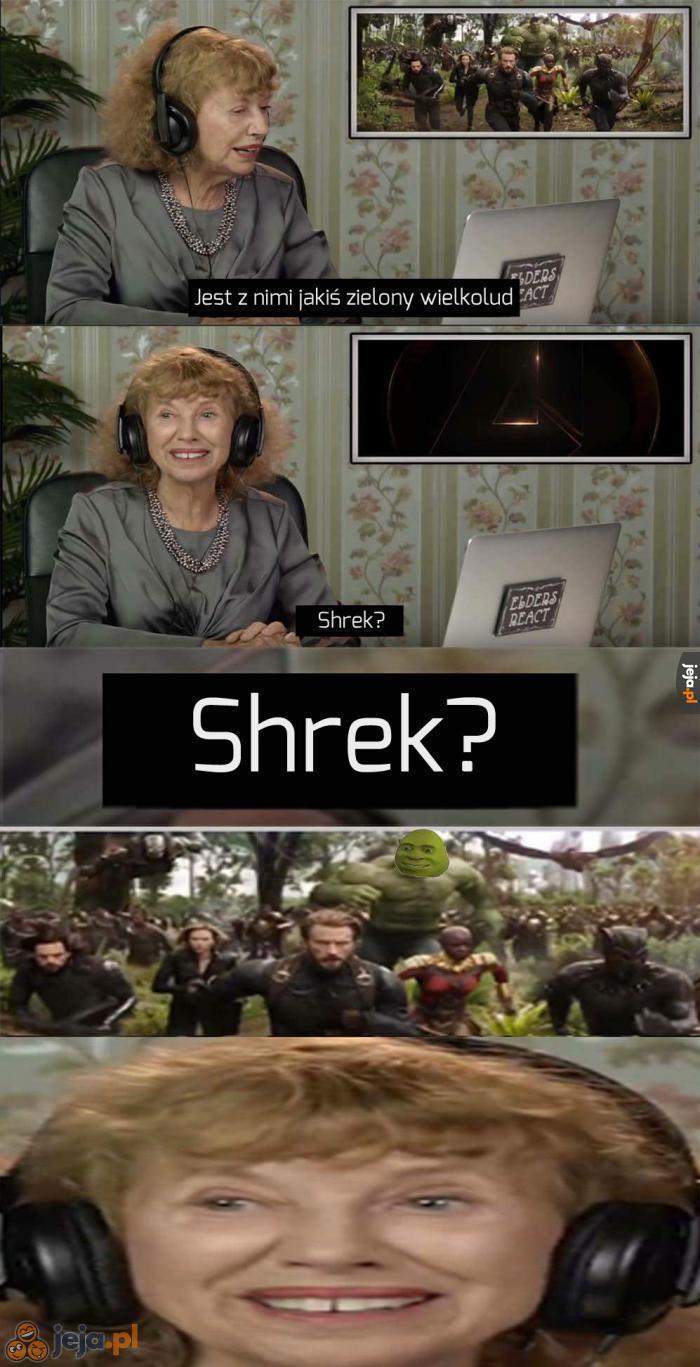 Shrek jak się patrzy
