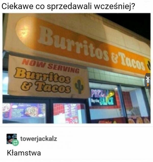 Nagła zmiana menu