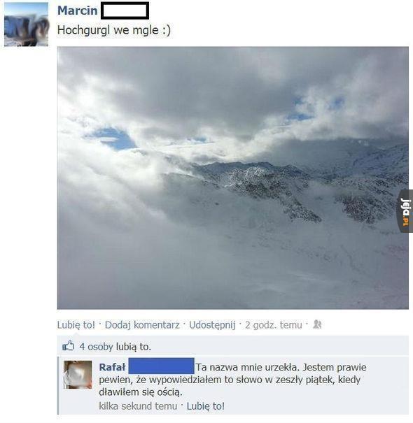 Hochgurgl we mgle :)