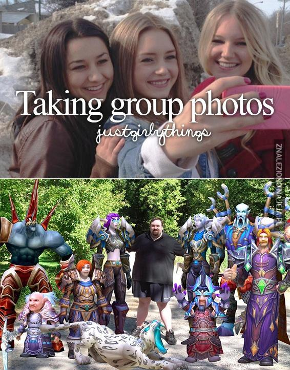 Ach, te grupowe fotki!