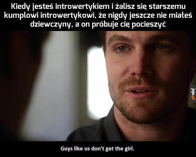 Superbohaterowie nie mają dziewczyn