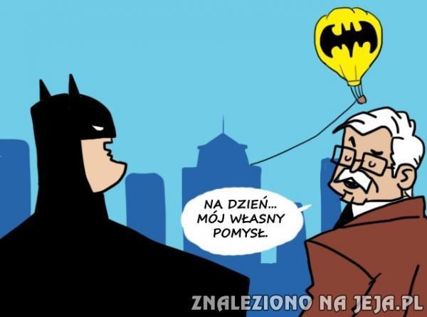 Batman musi robić na dwie zmiany