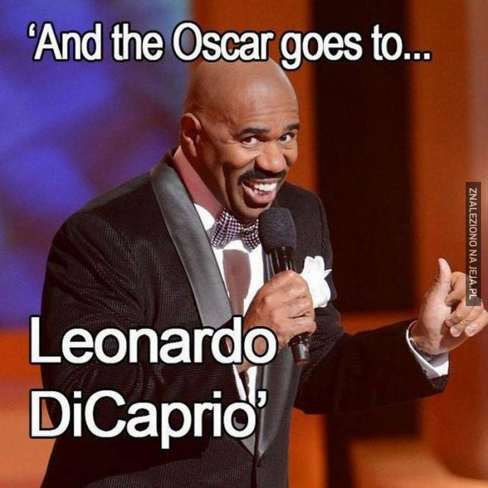 Dajcie mu poprowadzić Oscary!